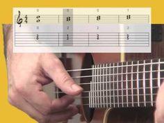 Guitare pour débutants 1/2 - cours COMPLET