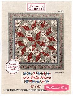 La Belle Fleur Quilt Pattern French General
