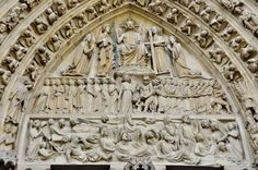 Above main doorway at Notre Dame Secret Keeper, Gothic Cathedral, Paris 2015, Living In Europe, Taurus And Gemini, Romanesque, Middle Ages, Facade, City Photo