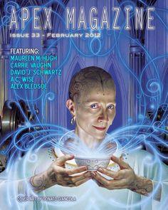 Apex Magazine Issue 33 - Art by Donata Giancola
