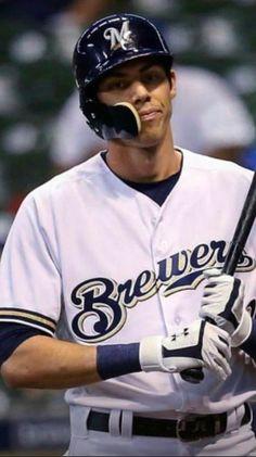 Cute Baseball Players, Sports Baseball, Christian Yelich, Milwaukee Brewers, Cleveland Indians, Heart Eyes, Celebrity Crush, Mlb, Crushes
