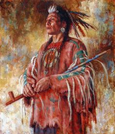 James Ayers, Western art painter of Native American Indians presents his fine art giclee print Nobility of Mind, featuring a Crow warrior with a peace pipe. Native American Paintings, Native American Pictures, Indian Pictures, Native Indian, Native Art, Red Indian, American Indian Art, American Indians, American Symbols