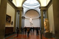 1501 – Michelangelo begins work on his statue of David.   ... . This allows you to see the progression of his work up to David