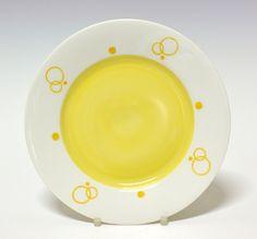 Plate by Nora Gulbrandsen  for Porsgrund Porselen.  1927-1928  Prot. Model nr 15.5. Decor nr 5837