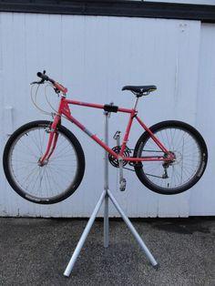 Diy Bike Repair Stand Instructables - Homemade Bike Repair Stand 6 Steps With Pictures Instructables Diy Bike Repair Stand Ver 2 0 7 Steps Instructables Wm Diy Home Bicycle Rep. Indoor Bike Rack, Diy Bike Rack, Homemade Bike Stand, Bicycle Work Stand, Bike Stands, Bike Maintenance Stand, Bike Rollers, Bike Repair Stand, Bike Tools