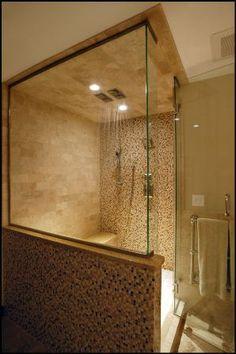 Bathroom remodel in Edina, Minnesota by Fair & Square Remodeling. #fairandsquare #bathroom #shower