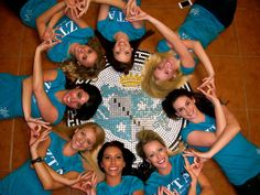 I may not know these lovely ladies personally, but we're sisters and that's good enough for me! ZLAM!