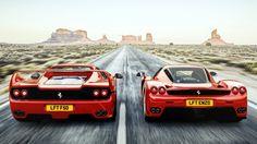 Ferrari F50 vs Ferrari Enzo