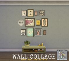 One Billion Pixels: Wall Collage