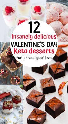 12 Keto Valentines Dessert Recipes That Are Perfect For Two - 12 Romantic Keto . 12 Keto Valentines Dessert Recipes That Are Perfect For Two – 12 Romantic Keto …- 12 Keto Va Keto Valentines Day, Valentines Day Desserts, Low Carb Candy, Keto Candy, Candy Recipes, Dessert Recipes, Keto Recipes, Keto Foods, Healthy Recipes