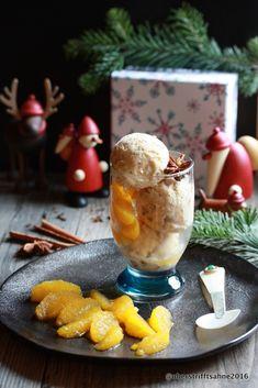 Lebkuchenparfait auf Gewürzorangen von Obers trifft Sahne - Sugarprincess Christmas Cookie Club 2016