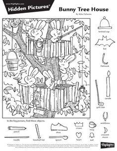 2016년 5월 숨은그림찾기 1편, 어린이 숨은그림찾기, Hidden Pictu... Library Activities, Craft Activities For Kids, Coloring Pages For Kids, Adult Coloring, Hidden Pictures Printables, Highlights Hidden Pictures, Hidden Picture Puzzles, Rabbit Illustration, Paper Games