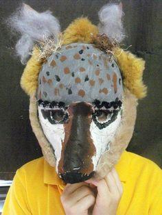 endangered animal masks