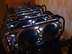 8 GPU GTX 1080ti - BIG Cryptocurrency Mining Rig - fully built for many Altcoins