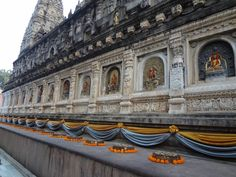 Templo de Buddha (Mahaboodhi), em Bodh Gaya/Índia
