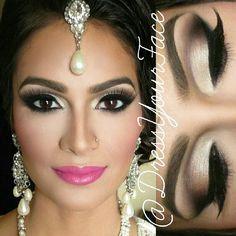 Make up for my skin tone Mac Makeup, Makeup Geek, Makeup Art, Makeup Tips, Beauty Makeup, Makeup Ideas, Asian Bridal Makeup, Indian Makeup, Wedding Beauty