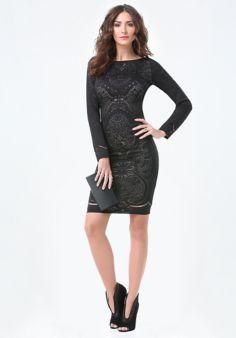 Lace Scoopback Dress