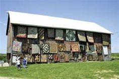 wow, a real quilt barn