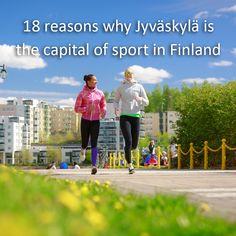 Read 18 reasons why Jyväskylä is the Capital of Sport in Finland. Photo: Tero Takalo-Eskola.