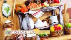 Artesanato - Porta chave para cozinha