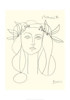 Head of a Woman picasso