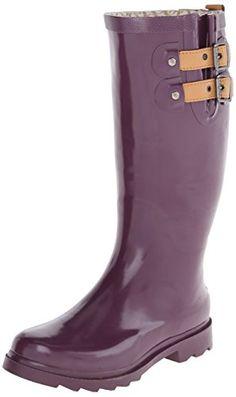 Chooka Women's Top Solid Rain Bootie, Bright Plum, 8 M US Chooka http://www.amazon.com/dp/B00J57XFF6/ref=cm_sw_r_pi_dp_HXOrwb074GK0K