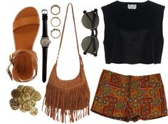"""boho"" by brittanyalix on Polyvore"