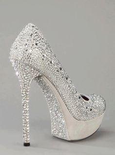 6d844e78fbbfbe Glitzy wedding high heels