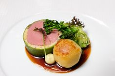 Herb roasted veal at The French Laundry in Yountville, California.