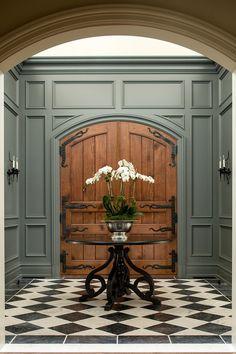 Home Interior Entrance .Home Interior Entrance Foyer Design, Design Entrée, House Design, Design Styles, Decor Styles, Design Trends, Interior Exterior, Home Interior Design, Interior Decorating