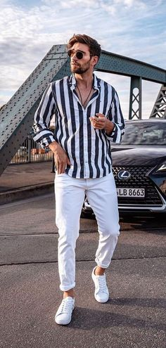 Mens Clothing Guide, Mens Clothing Styles, Trendy Mens Clothing, Men's Clothing, Summer Outfits Men, Stylish Mens Outfits, Men's Outfits, Best Outfits, Stylish Clothes For Men