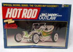 "1:25 Scale Revell Hot Rod Ed ""Big Daddy"" Roth's OUTLAW Model Kit SEALED NEW NIB #Revell"