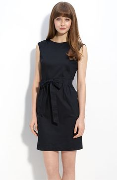 Navy cotton/spandex day dress- Very Simple, but would be good if going for casual and would look good with green hair accessories $118
