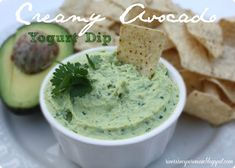 Creamy Avocado Yogurt Dip | The Recipe Critic