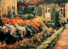 Max Liebermann - Blumenstauden