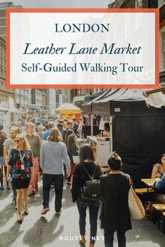 Shop At Leather Lane Market And Hatton Garden One Of The