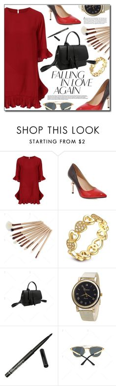"""""""Red Love"""" by fashion-pol ❤ liked on Polyvore featuring vintage"""