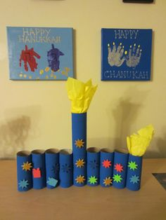 1000 images about art lessons jewish on pinterest for Menorah arts and crafts