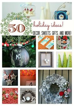 50 Holiday Ideas To