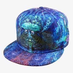 Huachuma Snapback Hat By Alternative Intelligence and Justin Totemical