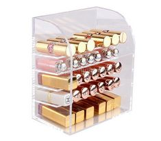 Makeup lipstick display stand, Makeup lipstick display case