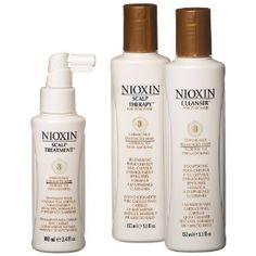 Nioxin Starter Kit, System 3 Hair Treatment.