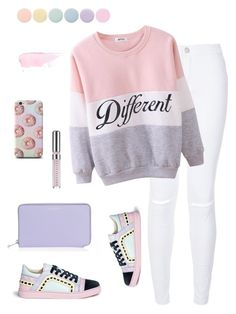 """Pink of spring"" by linhthuy28 on Polyvore featuring Sophia Webster, Henri Bendel, Deborah Lippmann, Chantecaille, women's clothing, women, female, woman, misses and juniors"