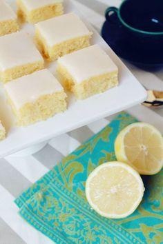 Cuadraditos de limón | Receta / Experimento Casa