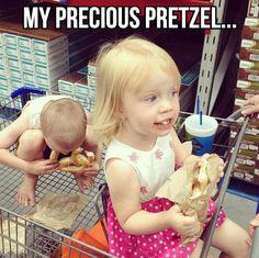 My preciousss pretzellss… izz making me thirsssty!