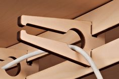 Tisch Eins is multifunctional. It's made from 9mm birch plywood, simply plugged together and is robust despite it's low weight.