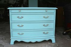 robin egg blue dresser - have you tried renaissance chalk paint?
