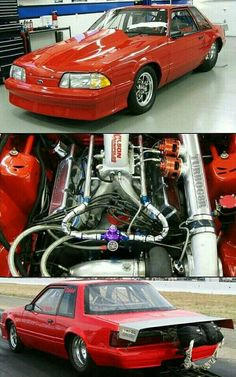 Dave Murphy Outlaw Turbo Fox Body Ford Mustang