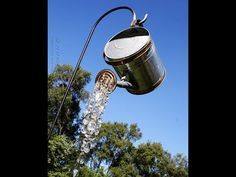 Watering Can That Pours Crystals - YouTube