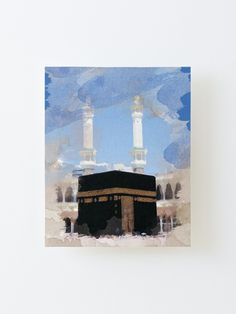 Mecca Wallpaper, Hippie Wallpaper, Islamic Wallpaper, Cute Canvas Paintings, Canvas Prints, Islamic Cartoon, Pretty Backgrounds, Arabic Art, Islamic Calligraphy